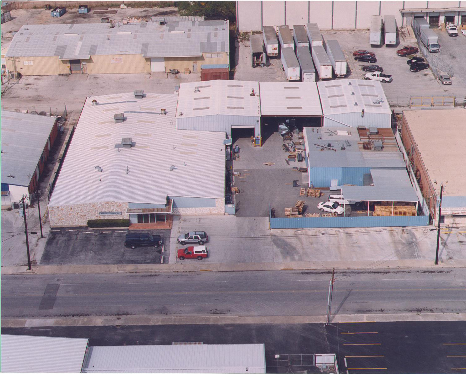 Technical Composites Corporation aerial view