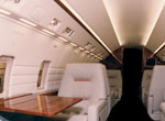Challenger CL601 interior