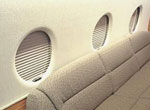 Gulfstream G200 mechanical shade